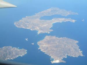 Creta giugno 2012 - Vista dall'aereo