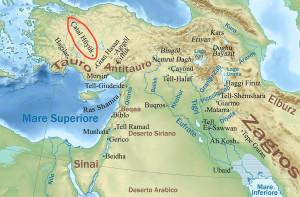 Cartina geografica della Turchia