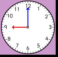 orari antimeridiani con intervalli di mezz'ora