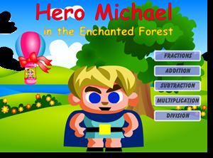 L'eroe Michael nella foresta incantata