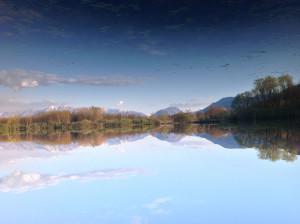 Simmetria sul lago