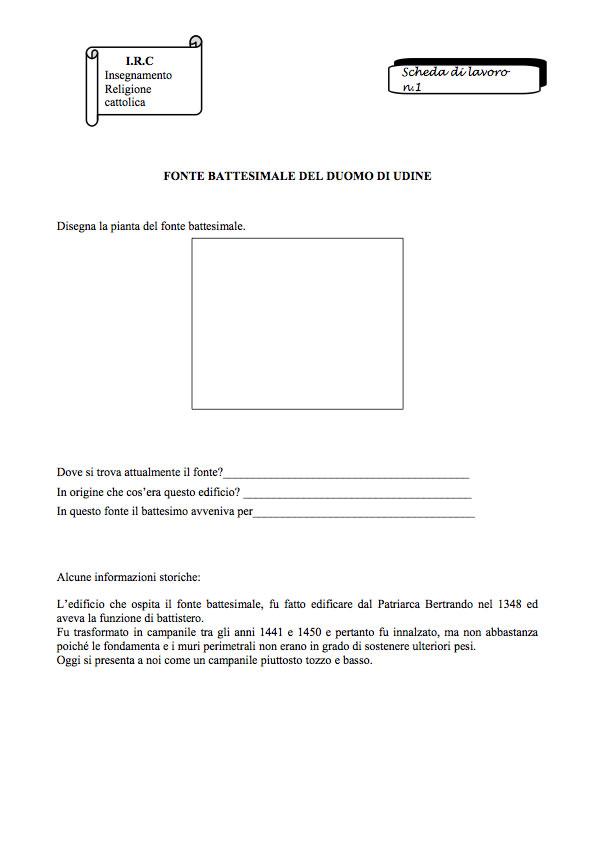 Istituto Comprensivo Di Sedegliano Documentazione Delle Attività
